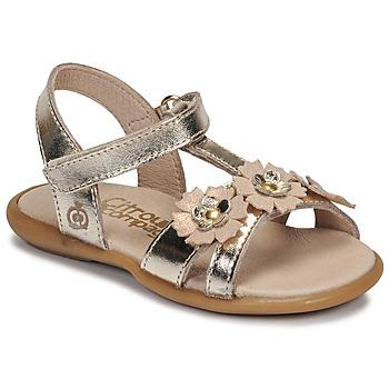 Pantofi Fete Sandale  Citrouille et Compagnie MARELLE Argintiu
