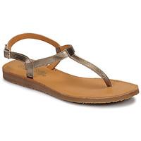 Pantofi Fete  Flip-Flops Citrouille et Compagnie MIZZA Auriu
