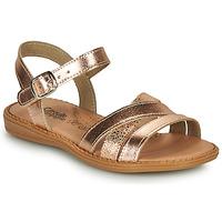Pantofi Fete Sandale  Citrouille et Compagnie IZOEGL Bronz