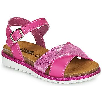 Pantofi Fete Sandale  Citrouille et Compagnie GAUFRETTE Roz