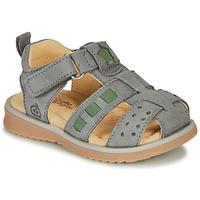Pantofi Băieți Sandale  Citrouille et Compagnie MERKO Kaki