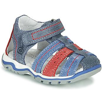 Pantofi Băieți Sandale  Citrouille et Compagnie MARIDO Albastru