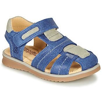 Pantofi Băieți Sandale  Citrouille et Compagnie MABILOU Albastru