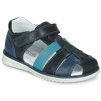 Pantofi Băieți Sandale  Citrouille et Compagnie FRINOUI Albastru