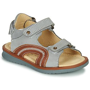 Pantofi Băieți Sandale  Citrouille et Compagnie MASTIKO Gri