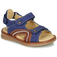 Pantofi Băieți Sandale  Citrouille et Compagnie MASTIKO Albastru