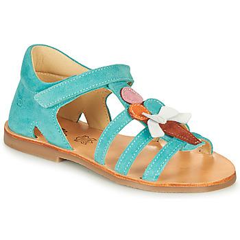 Pantofi Fete Sandale  Citrouille et Compagnie MIETTE Verde
