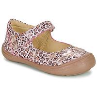 Pantofi Fete Balerin și Balerini cu curea Citrouille et Compagnie JALIPINE Leopard