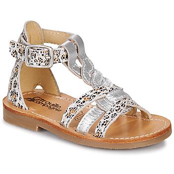 Pantofi Fete Sandale  Citrouille et Compagnie GITANOLO Leopard