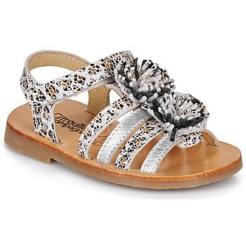 Pantofi Fete Sandale  Citrouille et Compagnie MALINETTE Leopard