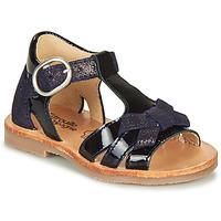 Pantofi Fete Sandale  Citrouille et Compagnie MOLINETTE Albastru