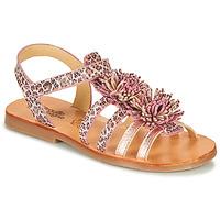 Pantofi Fete Sandale  Citrouille et Compagnie MARINAS Roz