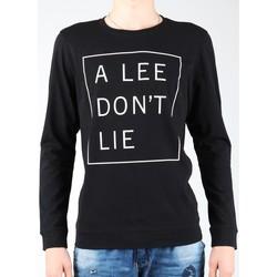 Îmbracaminte Bărbați Tricouri cu mânecă lungă  Lee Don`t Lie Tee LS L65VEQ01 black, white