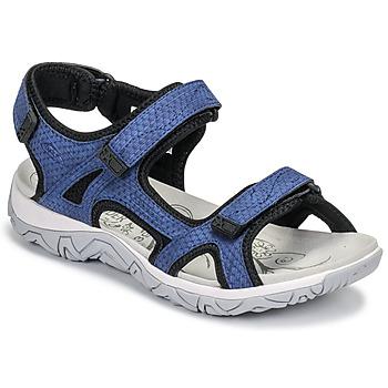 Pantofi Femei Sandale sport Allrounder by Mephisto LARISA Albastru