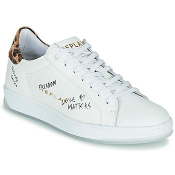 Pantofi Femei Pantofi sport Casual Replay MELANIA Alb