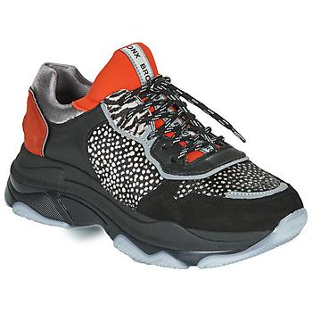 Pantofi Femei Pantofi sport Casual Bronx BAISLEY Negru / Portocaliu