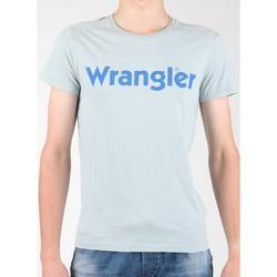 Îmbracaminte Bărbați Tricouri mânecă scurtă Wrangler S/S Graphic Tee W7A64DM3E grey