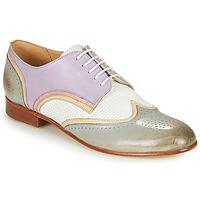 Pantofi Femei Pantofi Derby Melvin & Hamilton SALLY 15 Albastru / Alb / Bej