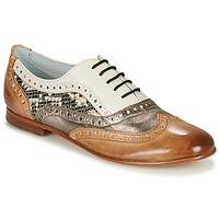 Pantofi Femei Balerin și Balerini cu curea Melvin & Hamilton SONIA 1 Maro / Bej