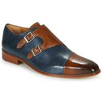 Pantofi Bărbați Pantofi Oxford Melvin & Hamilton LANCE 34 Albastru / Maro