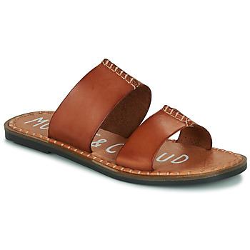 Pantofi Femei Papuci de vară Musse & Cloud LESLIE Coniac