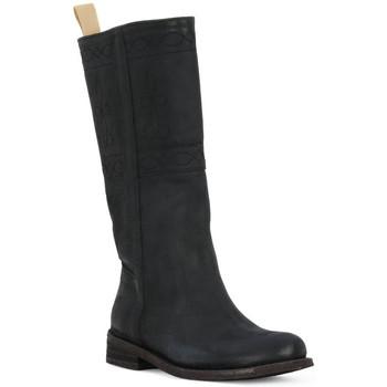 Pantofi Femei Cizme casual Felmini BLACK CRONO Nero