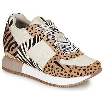 Pantofi Femei Pantofi sport Casual Gioseppo BIKANER Bej / Maro