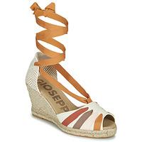 Pantofi Femei Sandale  Gioseppo ARLEY Ecru / MuȘtar