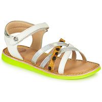 Pantofi Fete Sandale  Gioseppo STAGGIA Alb / Galben