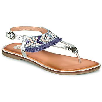 Pantofi Fete Sandale  Gioseppo BERMUDAS Albastru / Alb