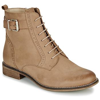 Pantofi Femei Ghete André CHEPTELA Camel