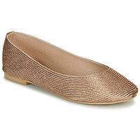 Pantofi Femei Balerin și Balerini cu curea André PAPAYA Auriu
