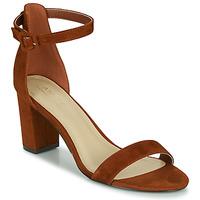 Pantofi Femei Sandale și Sandale cu talpă  joasă André BERTILLE Maro