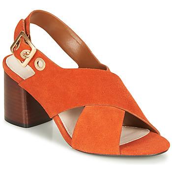 Pantofi Femei Sandale  André JANNINE Portocaliu