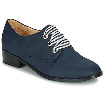 Pantofi Femei Pantofi Derby André MONTSERRAT Albastru