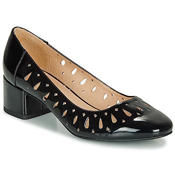 Pantofi Femei Balerin și Balerini cu curea André JOZEFA Negru / Lac