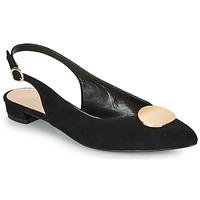 Pantofi Femei Balerin și Balerini cu curea André JACQUOTTE Negru