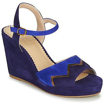 Pantofi Femei Sandale  André LA JONGLEUSE Albastru