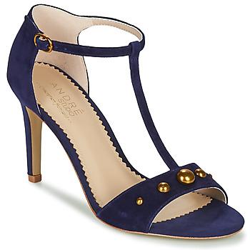 Pantofi Femei Sandale  André LA DOMPTEUSE Albastru