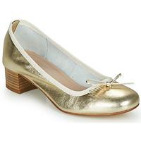 Pantofi Femei Balerin și Balerini cu curea André POEME Auriu