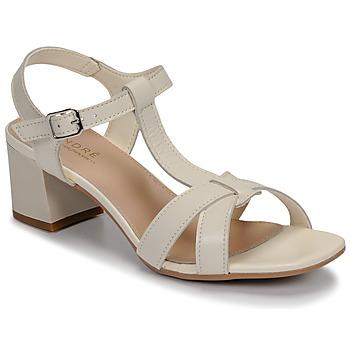 Pantofi Femei Sandale  André JOSEPHINE Alb