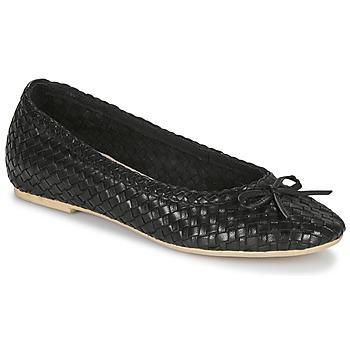 Pantofi Femei Balerin și Balerini cu curea André BERNY Negru