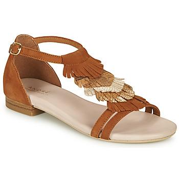 Pantofi Femei Sandale  André BRIANA Camel