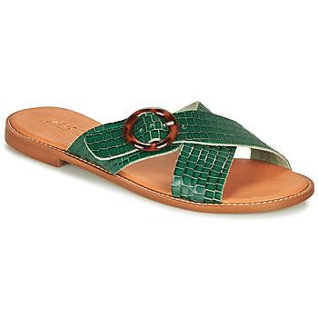 Pantofi Femei Sandale  André BRAIDY Verde