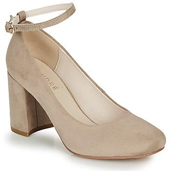 Pantofi Femei Pantofi cu toc André LAURIA Bej