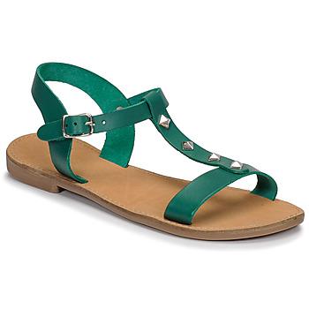 Pantofi Femei Sandale  André DOMINOU Verde