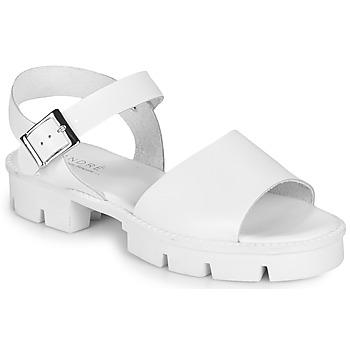Pantofi Femei Sandale  André ABRICOT Alb