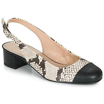 Pantofi Femei Balerin și Balerini cu curea André POEMETTE Bej