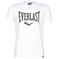 Îmbracaminte Bărbați Tricouri mânecă scurtă Everlast EVL LOUIS SS TS Alb