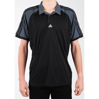 Îmbracaminte Bărbați Tricou Polo mânecă scurtă adidas Originals Adidas Polo Shirt Z21226-365 black, grey